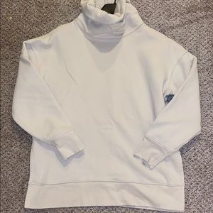 Athleta Mock Neck Sweatshirt Small
